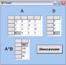 Скачать программе умножения матрицы на матрицу